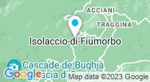 Plan Carte Thermes à Pietrapola-les-Bains