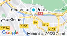 Plan Carte Espace d'aquabiking à Maisons-Alfort