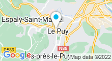 Plan Carte Spa au Puy-en-Velay