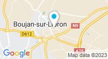 Plan Carte Centre aquabike Better Live à Boujan-sur-Libron