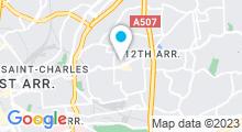 Plan Carte Aesthesis Beauté à Marseille