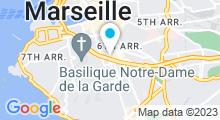 Plan Carte L'O de Syam à Marseille