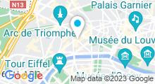 Plan Carte Centre aquabike Bike & Spa à Paris (8ème)