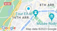 Plan Carte Centre aquabike Fit&Slim à Paris (16ème)