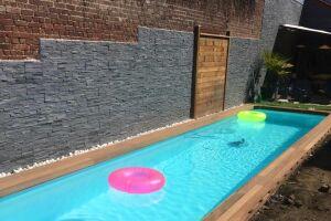 couloir de nage d'un client, réalisé par S2O