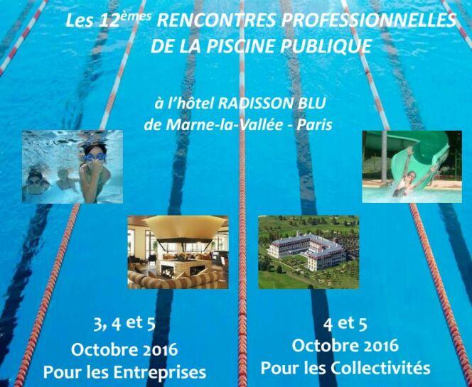 12e rencontres professionnelles de la piscine publique