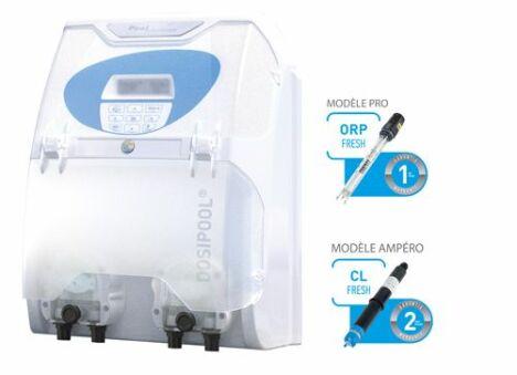 DOSIPOOL PRO® et AMPERO® sont des systèmes de dosage chlore 100% automatiques.