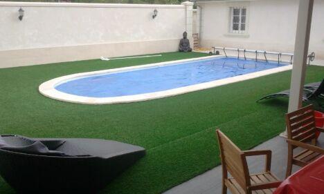 piscine prête à plonger installée à Châtelleraut