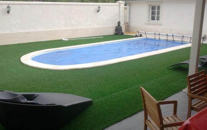 piscine prête à plonger installée à Châtelleraut DR