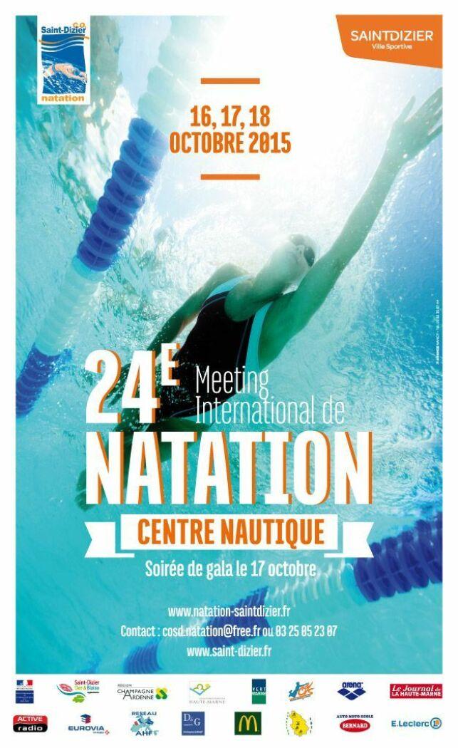 24ème Meeting de Natation à Saint-Dizier