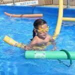 Piscine de l'école de natation à Ondres Plage