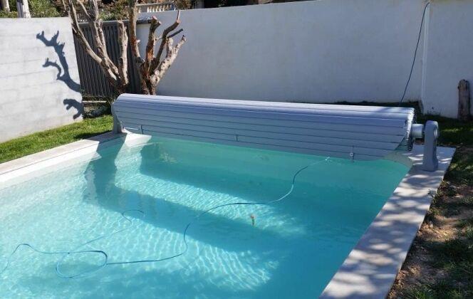 Ouverture de piscine avec volet roulant DR