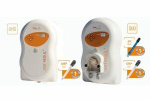 Grâce à sa sonde REDOX, JUST REGUL® permet de contrôler la production de chlore de l'électrolyseur.