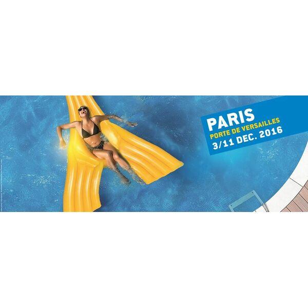 Le salon piscine et bien tre revient en 2016 for Salon piscine paris
