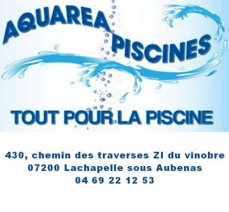 Logo aquarea piscines
