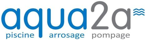 Logo Aqua2A Piscine-Arrosage-Pompage