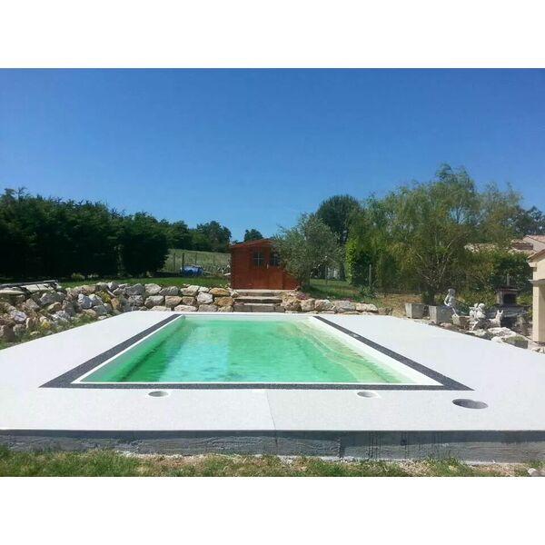 Piscines magestic labrugui re pisciniste tarn 81 for Construction piscine 81
