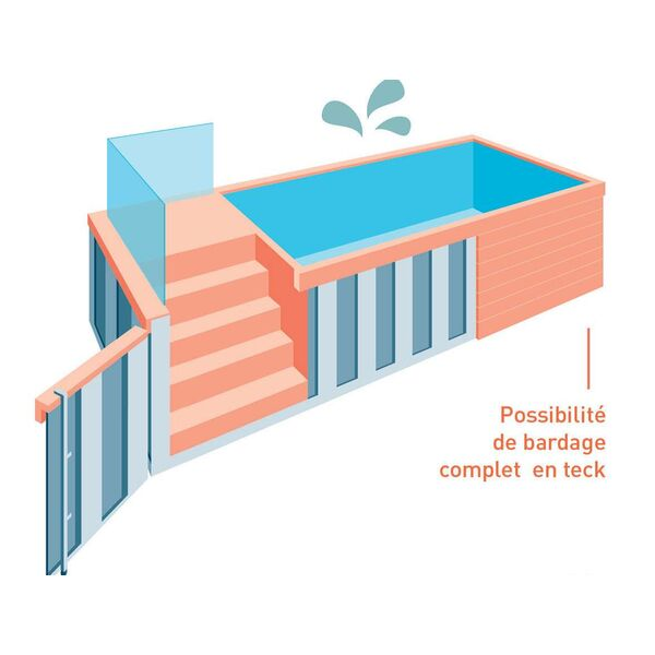 piscine pool container la rochelle pisciniste charente maritime 17. Black Bedroom Furniture Sets. Home Design Ideas