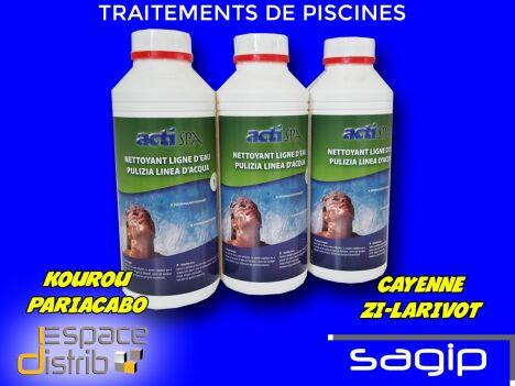 produits de traitements sopool hypochlorite, sel, chlore, etc