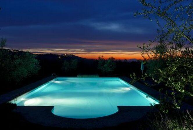 L'éclairage LED pour piscine