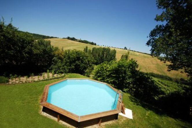 "Le chauffage de piscine hors-sol <span class=""normal italic petit"">© Fotolia</span>"