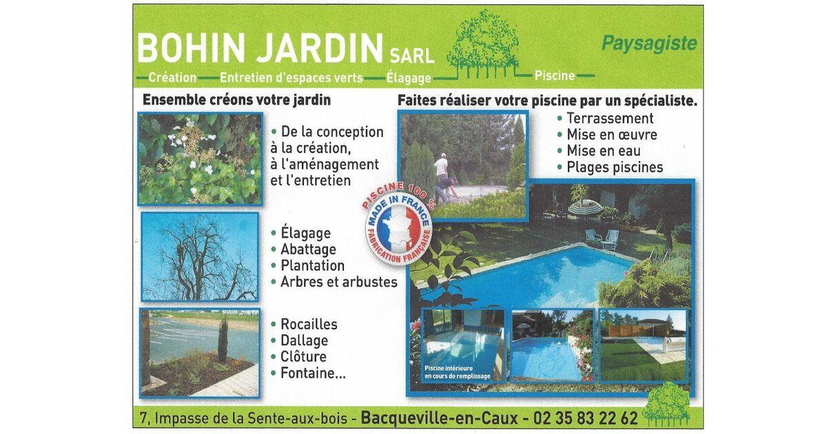 Piscine bohin jardin pierreville bacqueville en caux for Piscine seine maritime