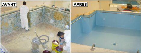 """Intervient sur bassins neufs ou en rénovation auprès des hôpitaux, cliniques, autres collectivités locales, sociétés privées et particuliers.<span class=""""normal italic petit"""">DR</span>"""