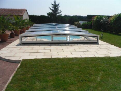 Abris de piscines - Fabrication française - Bas