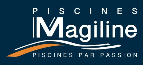 """Distributeur agréé Piscines MAGILINE<span class=""""normal italic petit"""">DR</span>"""