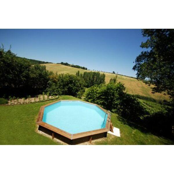 un beau jardin autour de votre piscine hors sol. Black Bedroom Furniture Sets. Home Design Ideas