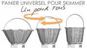ABPool développe un panier de skimmer universel: ISI-SKIM