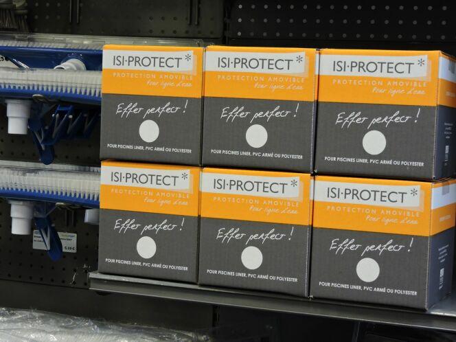 ABPool lance ISI-PROTECT, le film adhésif amovible qui facilite l'entretien de la piscine!