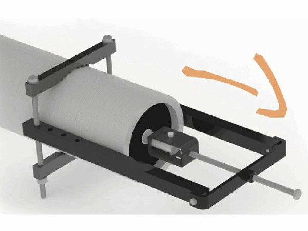 Extracteur de moteur pour volet de piscine ISI-Extract© ISI-Extract - ABPool