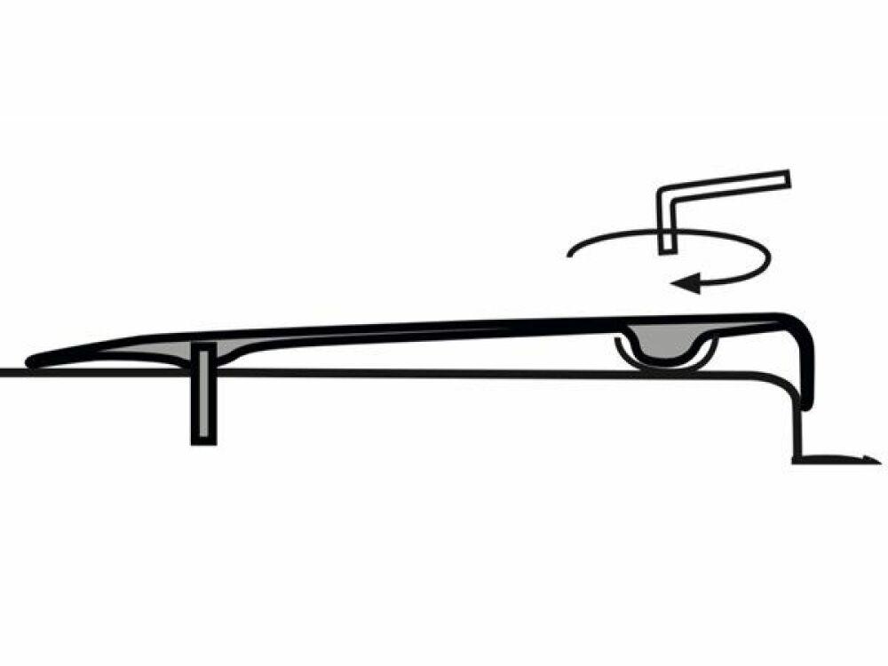 Système de réglage de la ligne d'eau, ISI-Level© ISI-Level - ABPool