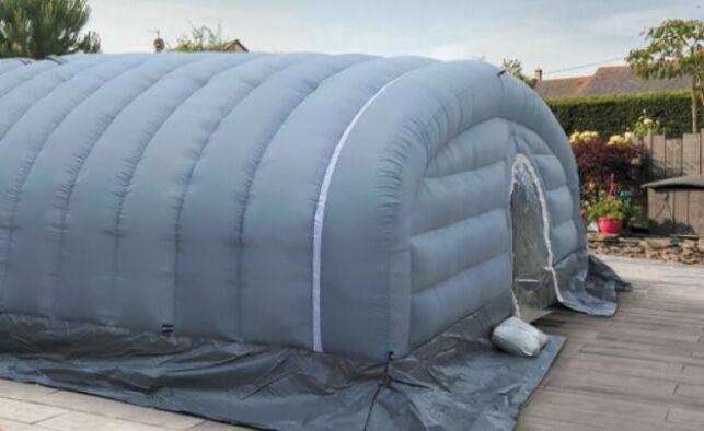 Abri de chantier gonflable CF Dome par CF Group