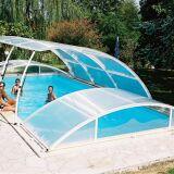 "Abri de piscine amovible Primo version ""roman classique"" Abridéal"