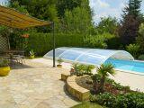 L'abri de piscine bas sur-mesure
