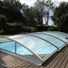 L'abri de piscine en aluminium
