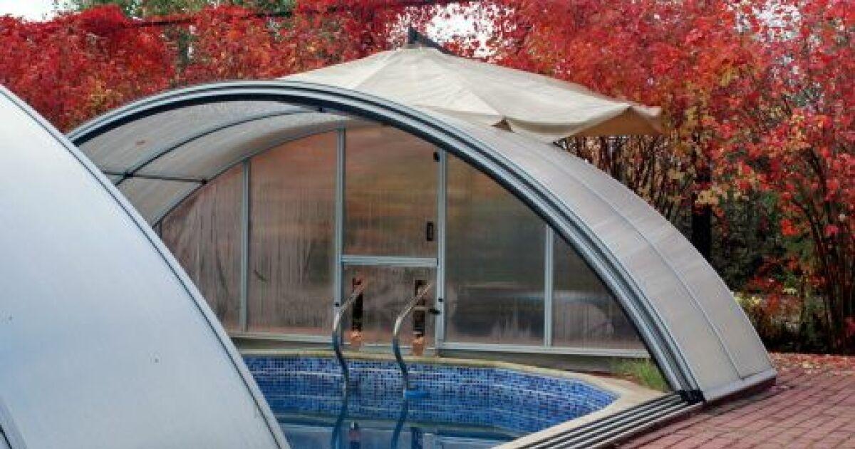 abri piscine envole