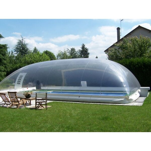 L 39 abri de piscine gonflable facile et rapide installer - Piscine gonflable rectangulaire ...