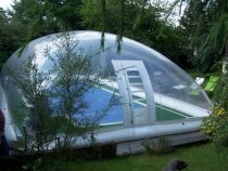 Photos d'abris de piscine en PVC
