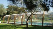 Abris de piscines en bois