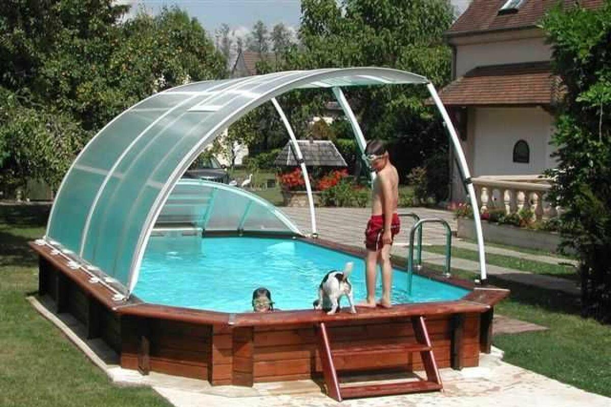 Les abris pour piscine hors sol : un atout confort - Guide-Piscine.fr