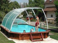 Les abris pour piscine hors sol : un atout confort