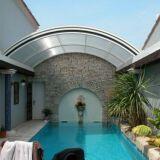 Abri de piscine lanterneau Arqualand
