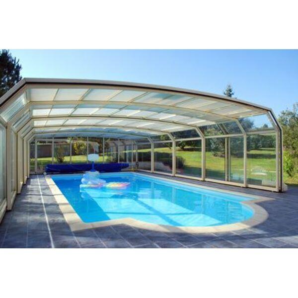 Abri de piscine les syst mes de fonctionnement abri telescopique abri amo - Piscine creusee tarif ...