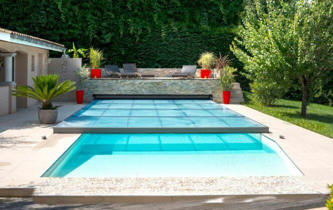 Abri de piscine, médaille d'argent, Abrisud © Abrisud