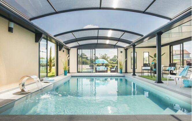 Abri de piscine, médaille de bronze, Concept Alu © Concept Alu