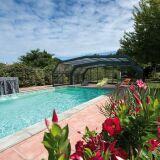 Abri de piscine Quintessenz