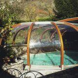 Abri de piscine rotonde fixe sur-mesure